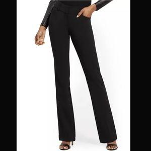Ny&Co Womens Petite Black Dress Pants Bootcut 4P